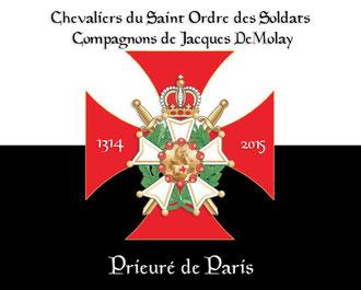 Bannière du chapitre de Paris