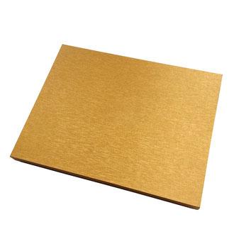 Schal Verpackung gold