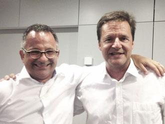 Torsten Kirchmann (links) und Michael Schirp / Foto: H.-J. Berg