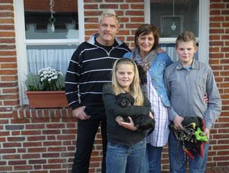 Familie Dornieden mit Bija...