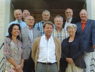Der Vorstand der Seniorenbörse Leiblachtal