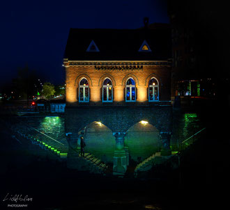 """QUO VADIS?  Location: """"Little Castle at the Canal"""" in the """"Warehouse City, Hamburg, Germany"""