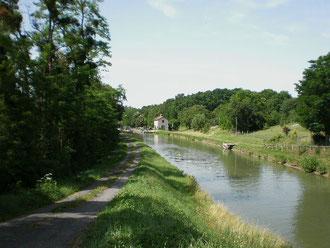 Le Canal de Briare à Dammarie-sur-Loing