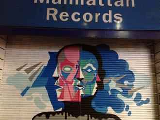 近所のマンハッタンレコード