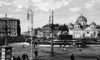 Sankt Petersburg, Nevsky Prospekt, vor 1917.
