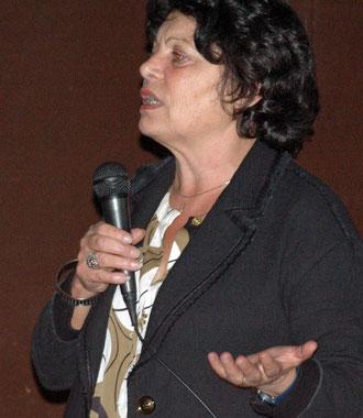 Michèle Rivasi, invitée à Salernes par Bioccop