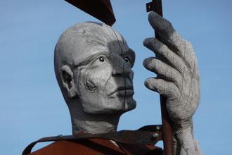 große Holzfigur auf dem Schauinsland