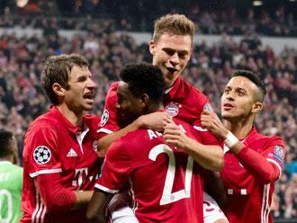 Die Bayern fertigten Eindhoven mit 4:1 ab. Foto: Matthias Balk