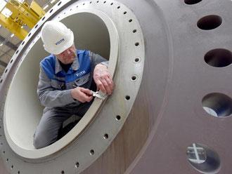 Der Maschinenbau ist eine Vorzeigebranche für Deutschland. Foto: Stefan Puchner/Symbolbild