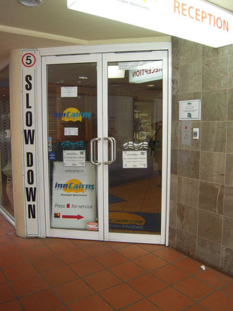 インケアンズの入口の写真