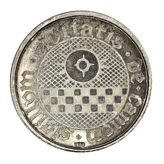 Kamen Silbermünze