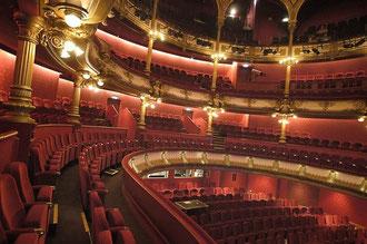 Grande salle du théâtre des Célestins, Lyon.
