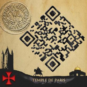QR Code Temple+de+Paris