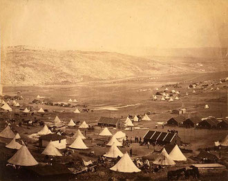 Cavalry camp at Balaklava