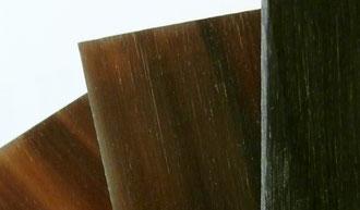 Hornplatten Büffelhornbrillen