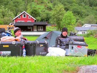 Bernhard und Hubert zwei Motor-Biker aus Deutschland