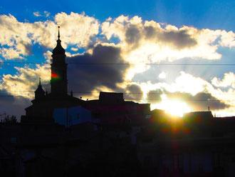 Ateca - eine kleine Stadt im Gebirge