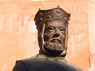 der argagonische Führer Alfons I.
