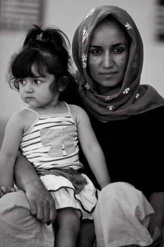Süleymans Prinzessin mit der gemeinsamen Tochter.