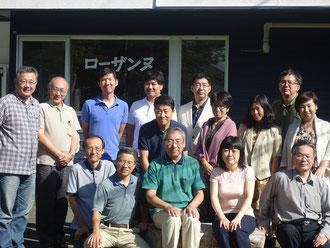 日本ローザンヌ委員会ビジョンリトリート参加者集合写真