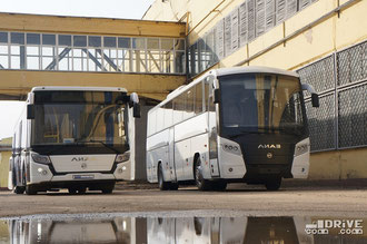 ЛиАЗ 529230 и ЛиАЗ 529115 «Круиз». Завод ЛиАЗ. 11/03/2014