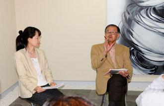 ギャラリートーク:岡雄三先生と丸田恭子