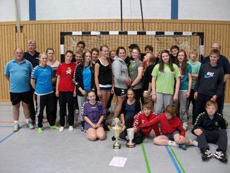 Die Siegermannschaften 2011
