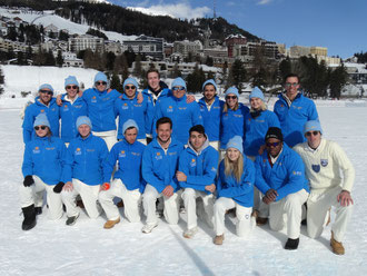 Lyceum Alpinum at Cricket On Ice in 2018