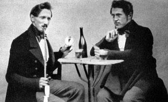 Franz Burckhard und Theodor Ziegler