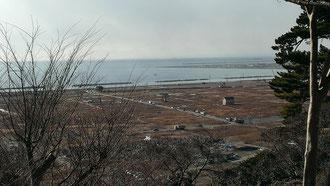 震災前5000人以上が住んでいた地域