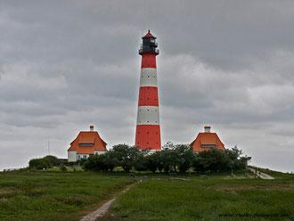 Leuchtturm Westerheversand v. 1906