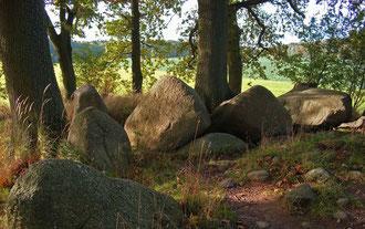 Gigant der Steinzeit bei Lancken-Granitz, Großdolmen mit Windfang