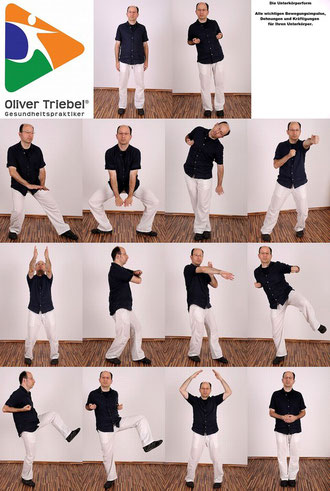 Die Unterkörper-Bewegungsform trainiert den kompletten Unterkörper.
