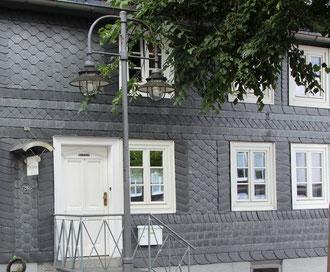 Brilon: Die Ferienwohnung von außen (Friedrichstraße 26)