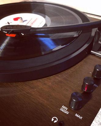 Billy Bob Kofferschallplattenscpieler - Auna