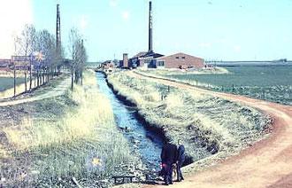 Midlum im Rheiderland: Zwei Ziegeleien am Tichelschloot
