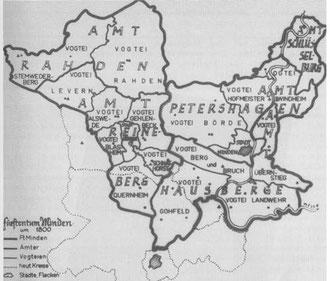Das Bistum Minden und die Holzhauser Mark