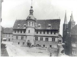 Rathaus Höxter 1900 © Stadt Höxter