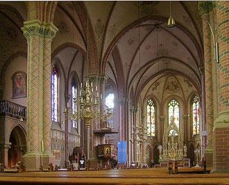Innenansicht der St.-Antonius-Kirche