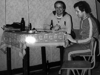 Hannfried Buchholz und Hans-Dieter Rahn