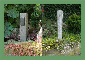 Wasserzapfsäulen und Außensteckdosen aus Naturstein