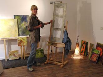 Im Studio 3/3 Acrylmalerei
