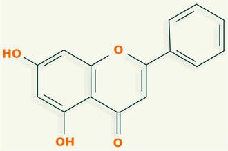 Crisina - flavonoides