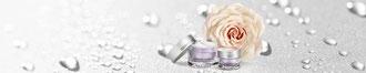 Tiegel mit Restoring Eye Cream und Rose, die neue Augenpflege von Beauty by Clinica Ivo Pitanguy, bbcip