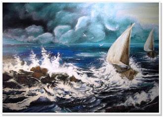 """Wie immer der """"Sturm"""" sein mag ~ wir sind nicht hilflos und nicht allein."""