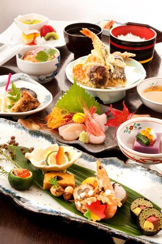 家族で楽しめるおいしい会食と創作和食の店・しゃもじの会食・パーティー用コース料理