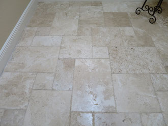Travertine für Innen - Villa Sanibel Shell