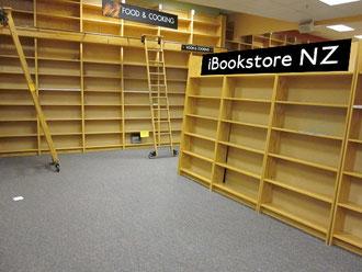 Estanterías llenas de e-books