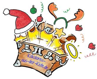 Fröhliche Weihnachten und einen Guten Rutsch wünscht #Kokolores-aus-der-Kiste!