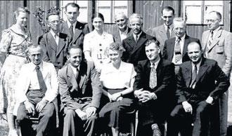 Lehrerkollegium 1952